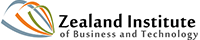 Logo Zealand Intitute of Business and Technology
