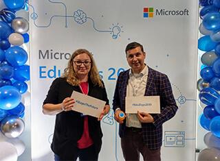 Elżbieta Szczepaniak Wojciech Pitura Microsoft EduDays 2019