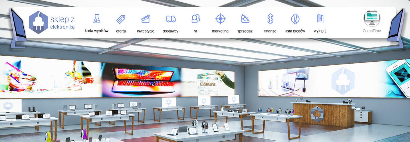 Gry ekonomiczne sklep zelektroniką revas