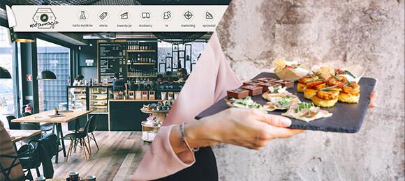 Praktyki zwykorzystaniem wirtualnego przedsiębiorstwa - restauracja kelner